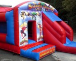 Bouncy Castle and Slide Combos