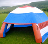 Inflatable Shelter Hire