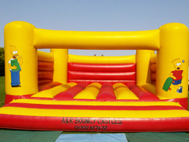 Simpsons Bouncy Castle Hire