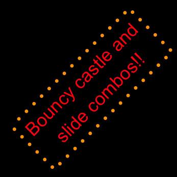 Bouncy Castle Slide Combos