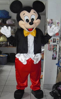 Mickey Mouse Mascot Hire in Cockermouth Cumbria