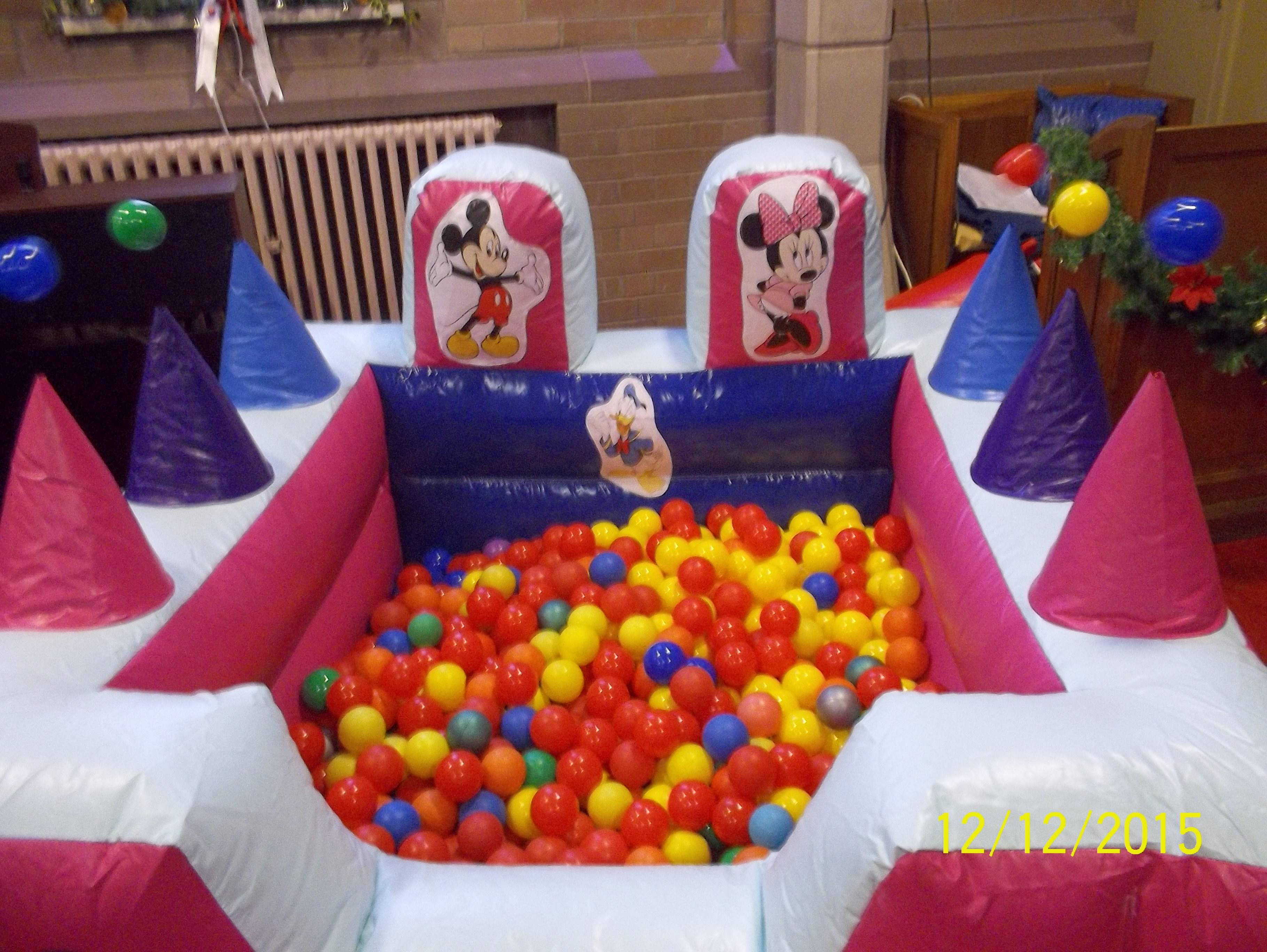 Pink Air Juggler Ball pool
