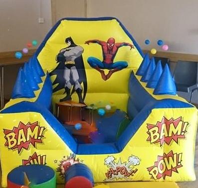 super hero ballpool